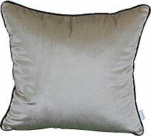 Modern und schlicht einfarbig Bett Rückenlehne/Sofakissen Kissenbezüge-I 45x45cm(18x18inch)VersionA