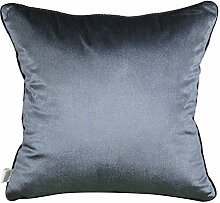 Modern und schlicht einfarbig Bett Rückenlehne/Sofakissen Kissenbezüge-B 60x60cm(24x24inch)VersionA