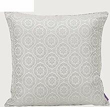 modern und schlicht einfarbig Kissen/PP Baumwoll-Kissen/Sofa-Bett Umarmung Kissenbezug-A 30x45cm(12x18inch)VersionB
