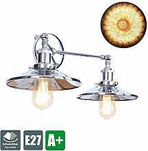 Modern Wandlampe, Spiegel Brechung Schirm Effekt