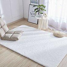 Modern Weich Shaggy Fell Teppich Für Schlafzimmer