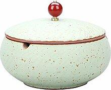 Modern Windaschenbecher aus feinstem Keramik