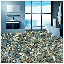 Moderne 3D Lebensechte Pebble Bodenbelag Wandbild