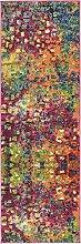 Moderne abstrakte Barcelona modernes Bereich Teppich, Polypropylen, multi, 2 x 6