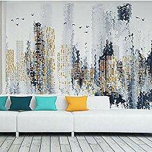 Moderne abstrakte einfache Stadt Gebäude Serie