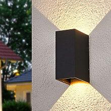 Moderne Außenleuchte anthrazit inkl. LED - Kimian