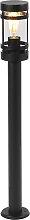 Moderne Außenleuchte schwarz 80 cm IP44 - Gleam
