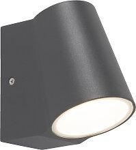 Moderne Außenwandleuchte anthrazit inkl. LED - Uma