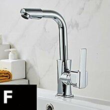 Moderne Badezimmer Waschtischarmatur Messing