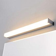 Moderne Badleuchte chrom 58 cm inkl. LED IP44 -