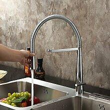 Moderne Bar/Prep Deck montiert Pre Spülen mit Keramik Ventil Griff eine Einzelbohrung für Chrome, Küchenarmatur