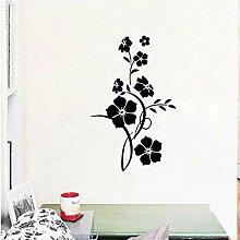 Moderne Blumen Und Blumenreben Wandaufkleber