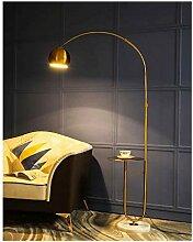 Moderne Bogen-Stehlampe, verstellbarer Schwenkarm,