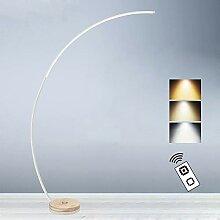 Moderne Bogenleuchte Stehlampe mit Fernbedienung,