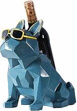 Moderne Bulldogge Weinregal, Lagerung Display Für