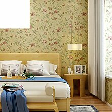 moderne chinesische Tapete Garten Schlafzimmer Tapete study Wand Hintergrundpapier Vollständige Non-Woven-Shop Tapete-A