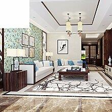 moderne chinesische Tapete Garten Schlafzimmer Tapete study Wand Hintergrundpapier Vollständige Non-Woven-Shop Tapete-B