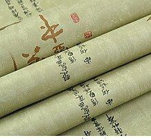 moderne chinesische Tapete Tee Art Kalligraphie