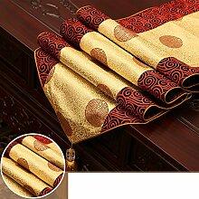 Moderne Chinesischen Tabelle Flagge,Chinesische Wind Teetisch Tischdecke,Tuch Mahagoni Möbel Tischdecke Schuhschrank Tv-schrank Flagge Tuch-C 35x300cm(14x118inch)