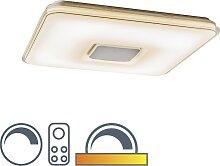 Moderne Deckenleuchte quadratisch LED mit