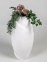 Moderne Deko Vase Blumenvase Bodenvase aus Keramik