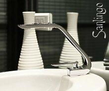 Moderne Designer Badezimmer Bad Armatur Wasserhahn Waschbecken Chrom Einhebel Sanlingo