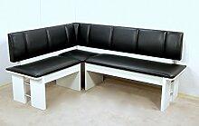 moderne Eckbank weiss Sitzecke Esszimmer Küche