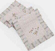 Moderne einfach chinesischer stil teetisch tv schrank tischdecke nordeuropa american table flag stoff tee tischdecke tischläufer-C 45x220cm(18x87inch)