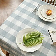 Moderne einfach Raster tischdecke Tee tischdecke-A 130x180cm(51x71inch)