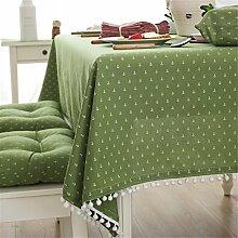Moderne einfache Baumwolle Tischdecke Party