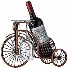 Moderne einfache Dekoration von Fahrrad Weinrahmen