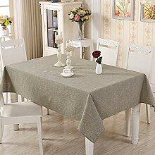 Moderne einfache Farbe gewebt Baumwolle und Leinen
