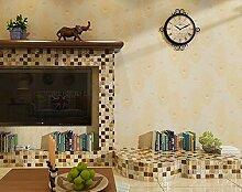 Moderne einfache Federtapete, Wohnzimmer,