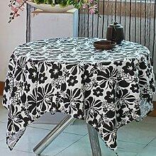 Moderne einfache Haushalt Polyester Baumwolle Leinwand Tischdecke Couchtisch Tuch TV Schrank Schuh Abdeckung Tuch Dekoration Mahlzeit Tuch , #4 , 90*145cm