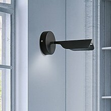 Moderne einfache Individualität Bett energiesparende Wandleuchte Europäische kreativ Mode Wohnzimmer Korridor Wandleuchten, schwarz