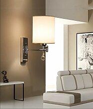 Moderne einfache Kristalllampe Schlafzimmer Lampe Nachttischlampe kreative amerikanische Studie Wohnzimmer Balkon Treppenleuchten