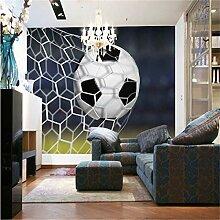 Moderne Einfache Kühle Fußball-Fototapete