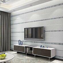 Moderne Einfache Streifen Tapete Für Wände Rolle