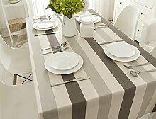 Moderne einfache tischdecke familien-tisch tuch art karo tischtuch tee tischdecke england wasserdicht anti-Öl-tischdecke-mehrere farben-F 135x135cm(53x53inch)