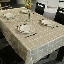 Moderne einfache tischdecke/wasserdicht und anti-bügeln garten tisch tuch/einweg-tischdecken-A 137x190cm(54x75inch)
