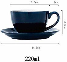 Moderne Einfachheit Keramik Kaffeetasse und