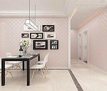 Moderne einfarbige Tapete für Schlafzimmer Wand