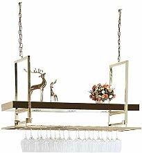 Moderne Esszimmer Weinregal hängende Glashalter