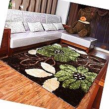 Moderne europäische Wohnzimmer-Sofa Amerikanische Schlafzimmer Couchtisch Mat Teppich (Farbe, Größe Optional) ( Farbe : A )