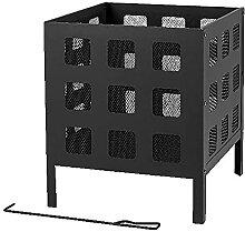 Moderne Feuerstelle – Texas Cube quadratischer