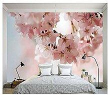 Moderne Fototapete für Wände 3D Pink Cherry