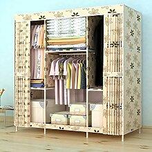 Moderne Garderobe Doppelparallelfalz Aus- und Einbau der einfach Schränken, Massivholz Fett zugeben, minimalistischen zusammenbauen, 150*45*170 schrank