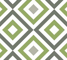 Moderne GMM Tapete Modern living - Diamant grün