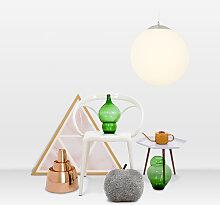 Moderne Hängelampe Glas 40cm - Ball