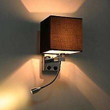 Moderne Innen Wandleuchte, Wandlampe mit Schalter